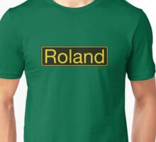 Roland Yellow Black Unisex T-Shirt