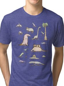 Dinosaurs Tri-blend T-Shirt