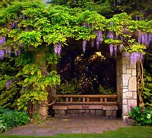 My Secret Garden - Van Dusen Botanical Gardens - Vancouver, BC by Kathryn  Young