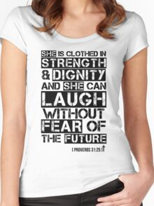 Proverbs 31 Woman Women's Fitted Scoop T-Shirt