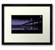 Awaiting Dawn Framed Print