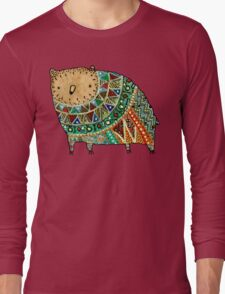 Aztec Bear Long Sleeve T-Shirt