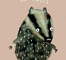 Happy Badger by Sophie Corrigan