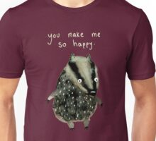 Happy Badger Unisex T-Shirt