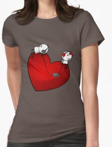 Heart Sound Womens Fitted T-Shirt