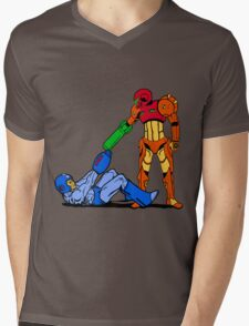 Reservoir Megatroid Mens V-Neck T-Shirt