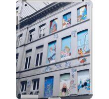 Rue Philippe de Champagne, Bruxelles, Belgium. iPad Case/Skin