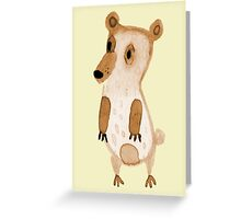 Beary the Bear Greeting Card