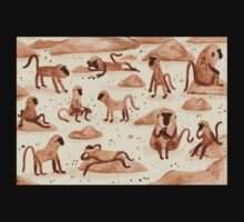 Baboons One Piece - Long Sleeve