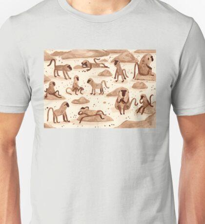 Baboons Unisex T-Shirt
