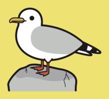 Cute seagull One Piece - Short Sleeve