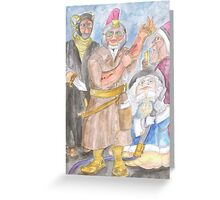 The Restorers Greeting Card