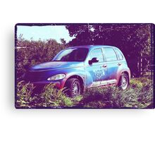 Nice things come in rusty packages Canvas Print