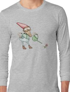 Sassy Garden Gnome Long Sleeve T-Shirt