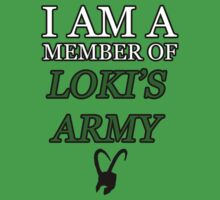I am a member of Loki's Army. by NightDragon74