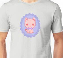 Kawaii kitty with bow Unisex T-Shirt