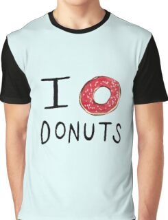 I ❤ Donuts Graphic T-Shirt