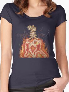 Kung fu fury Women's Fitted Scoop T-Shirt