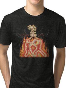 Kung fu fury Tri-blend T-Shirt