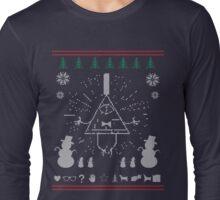 Gravity Falls Ugly Christmas Sweater Print Long Sleeve T-Shirt