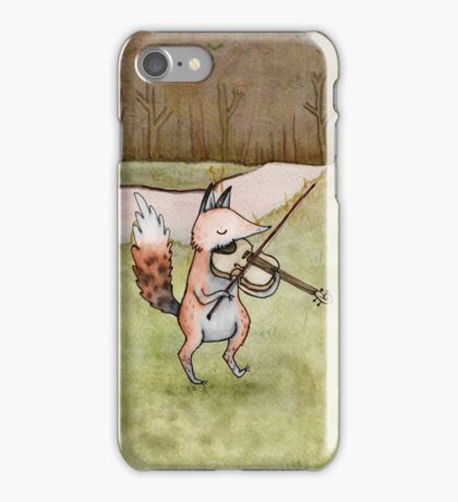 Violin Fox iPhone Case/Skin