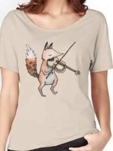 Violin Fox Women's Relaxed Fit T-Shirt