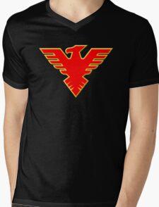Chojin Sentai Jetman Symbol Mens V-Neck T-Shirt