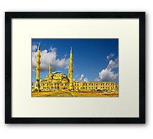 Nizamiye Turkish Masjid Midrand (1) Framed Print