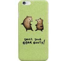 Bear Booty Dance iPhone Case/Skin