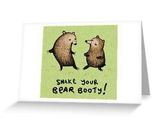 Bear Booty Dance Greeting Card