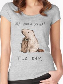 Dam Women's Fitted Scoop T-Shirt