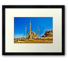 Nizamiye Turkish Masjid Midrand (2) Framed Print