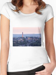 Wainhouse Tower Women's Fitted Scoop T-Shirt