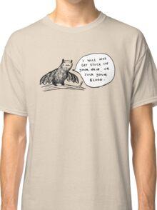 Bats Aren't Evil Classic T-Shirt
