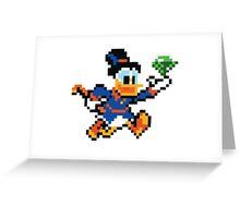 Scrooge Mcduck  Greeting Card