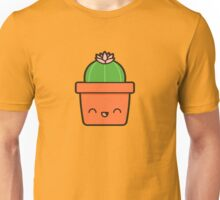 Cactus with flower in cute pot Unisex T-Shirt