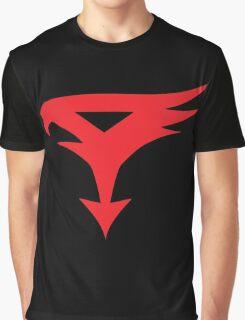 The Team - Gatchaman Superhero Logo Graphic T-Shirt