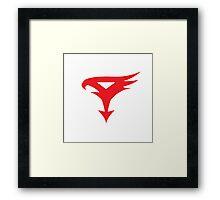 The Team - Gatchaman Superhero Logo Framed Print