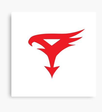 The Team - Gatchaman Superhero Logo Canvas Print