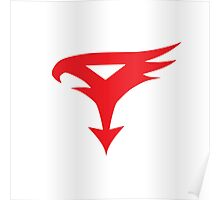 The Team - Gatchaman Superhero Logo Poster