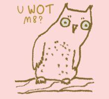 Confused Owl Kids Tee