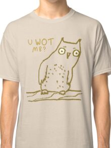 Confused Owl Classic T-Shirt