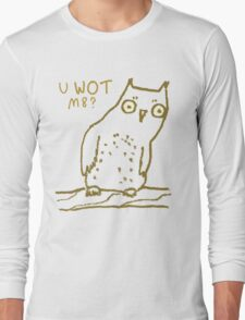 Confused Owl Long Sleeve T-Shirt