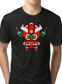 Mekkachibi Mekanda Robo Tri-blend T-Shirt