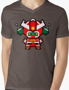 Mekkachibi Mekanda Robo Mens V-Neck T-Shirt