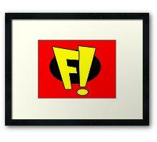 Freakazoid Framed Print