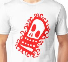 Burning Skull V1 Unisex T-Shirt