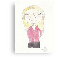 Doctor Who - Rose Tyler Canvas Print