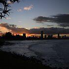 Burleigh Sunset by Noel Elliot