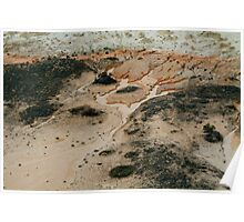 Lake Mungo from the air Poster